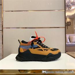 botas de mujer de color fucsia Rebajas FW19 ODSY-1000 verdes Vulc-top deportivos, diseño de la plataforma Flecha las zapatillas de deporte Vulcs Negro blanco de la manera unisex de los zapatos ocasionales de Formadores