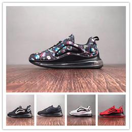Sapatos de bebê cinza on-line-(Com caixas) Novo 72e Crianças Menino Menina Azul Vermelho Preto Cinza Calçados Esportivos de Alta Qualidade Crianças Bebê Designers de Moda Sapatilhas Sapatos de Boliche