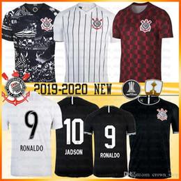 jersey para niños ronaldo Rebajas Corinto mejor Brasil Sport Club de fútbol jerseys JADSON RONALDO SOMOZA CLAYSON JANDERSON 7 JR. Sornoza Jersey 2019 2020 nueva hombres hijos Jersey