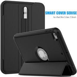 2019 estuche antichoque ipad air 3 capas de protección Smart Wallet Phone Case Plastic Soft TPU Cover para iPad 2 3 4 5 6 Samsung Tab A T580 T560