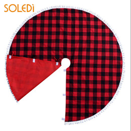 2019 красивые ткани 2018 New Floor Mat Nonwoven Fabric Christmas Soft Skirt Base Indoor Beautiful Tree Skirt Drop Shipping дешево красивые ткани