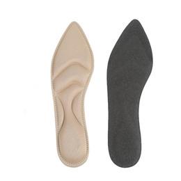 piede sferico metatarsale anteriore Sconti 1 paio di cuscini Tacchi alti Pratiche scarpe da massaggio Resistenti 4D Sponge Arch Support Solette per piedi piatti Inserti morbidi Imbottitura comfort