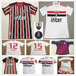f5aac5e65ef 2019 2020 Sao Paulo Soccer Jerseys PATO NENE PABLO HERNANES HELINHO JUCILEI  Goalkeeper Custom Home Away Men Women Kids Youth Football Shirt