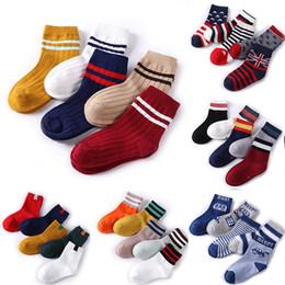 bb3383a25753 Baby Boy Socks Children Autumn Winter Cartoon Socks for Girls Kids for Girls  To School Sport Baby Girl Clothes Striped