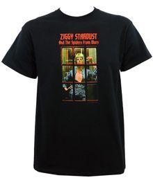 Аутентичные Дэвид Боуи Зигги Телефонная будка футболка SML XL 2XL новые мужчины женщины мужская мода футболка Бесплатная доставка смешно прохладный топ тройник черный от