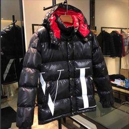 casaco de pêlo duplo branco mens Desconto Homens Casuais Para Baixo Casaco Para Baixo Casacos Mens Ao Ar Livre Quente Casaco de Inverno de Penas outwear jackets roupas de inverno dos homens