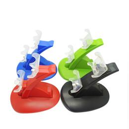 2019 3ds ac aufladeeinheit 1 los Spiel PS4 Zubehör PS4 Pro schlank Dual USB Ladegerät Docking Station Ständer für Playstation 4 Game Controller Ständer Halter