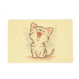 En gros PVC Pet Chat Litière Tapis Chien Kitty Bol Alimentation Poter Set Mignon Motif Respirant Sleeping Pad Anti-dérapant Lit Imperméable À L'eau ? partir de fabricateur