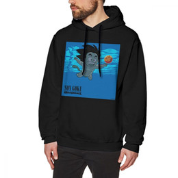 Nirvana Hoodie Smells Like Dragon Balls Hoodies Winter Grey Pullover Hoodie Large Long Length Cotton para hombre Al aire libre agradable Hoodies desde fabricantes