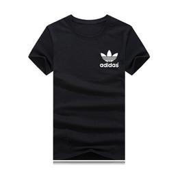 hip hop para la venta Rebajas Venta caliente Marca de moda Cuello redondo camiseta Verano Nuevos hombres Mujeres Tee Hip Hop Camiseta Casual colores