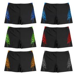 da4435c477 2019 Pantalones cortos de moda para hombres Ropa de playa Slim Fit Troncos  de entrenamiento flacos de secado rápido Hombres respirables Pantalones  cortos de ...