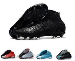 Nuovi tacchetti da calcio per uomo Hypervenom Phantom Iii Ea Sports Fg scarpe da calcio Soft Ground scarpe da calcio economici Rising Fast Pack Neymar Boots da