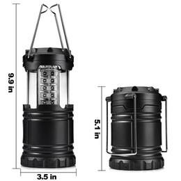 wiederaufladbare magnetische lampe Rabatt Hot Faltbare 30 LED Laternen Led Rasen Garten Lampe Pfad Wandleuchte Super Helle Outdoor Camping Zelte Licht