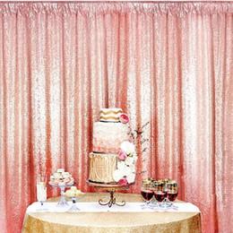 fotografia sfondo tenda Sconti 120 * 180 cm Shimmer Sequin Ristorante Tenda Matrimonio Photobooth Sfondo Fotografia di partito Sfondo Compleanno Feste 3Colors