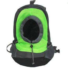 2020 saco do estilingue do gato Gatinho do filhote de cachorro Backpack Transportadora Cat Dog Pet Bag Ombro Frente Viagem Duplo Sling saco do estilingue do gato barato