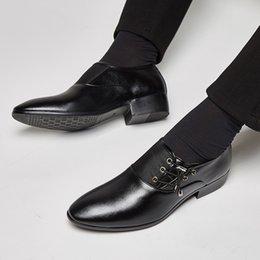 aafcea6da9eb loafer shoes men wholesale Canada - Spring Autumn Men Formal Wedding Shoes  Luxury Men Business Dress