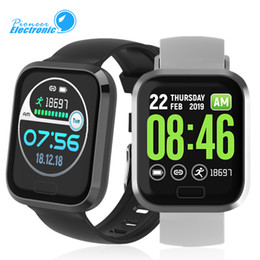 P30 Akıllı İzle Nabız Tansiyon Renk Android IOS PK mi bandı 4 İçin Bilezik 1.3 İnç Su geçirmez Akıllı İzle Display cheap miler watches nereden miler saatler tedarikçiler