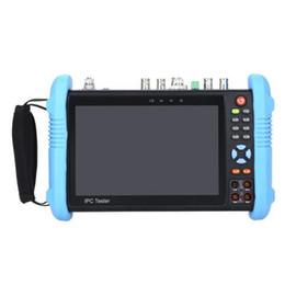 "Hd cvi cctv fotocamere online-7 ""HD CCTV Tester Monitor AHD TVI CVI SDI H.265 Multimetro IPC-9800 MOVTADHS plus tester per fotocamere digitali"
