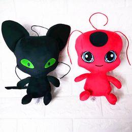 Joaninha de brinquedo on-line-Joaninha milagrosa 25 cm brinquedos de pelúcia animais dos desenhos animados boneca macia de boa qualidade chaveiro pingente de pelúcia brinquedos infantis