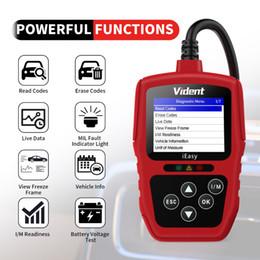 Ferramenta de digitalização fiat on-line-Lifetime OBD2 Scanner Vident iEasy300 Car Código Motor Leitor OBDII EOBD Can diagnóstico Scan Tool Universal Automotive Scanner Atualização grátis