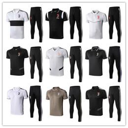 magliette di calcio di polo Sconti camicia di calcio POLO 2019 kit camicia Jvuentus Jersey di calcio polo 19/20 chandal RONALDO Dybala Mandzukic maglie da calcio Survêtement