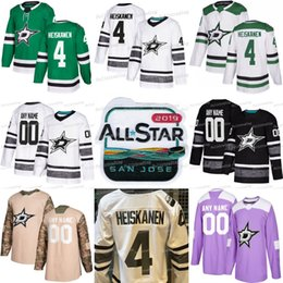 54c513947 4 Miro Heiskanen Dallas Stars 2019 All Star Jamie Benn Tyler Seguin Ben  Bishop Alexander Radulov John Klingberg Stephen Johns Hockey Jerseys