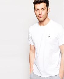 Camisas de hombre de tamaño pequeño online-Venta caliente 2018 Nueva Camisa de Polo Hombres Grandes pequeños Caballo cocodrilo perry LOGOTIPO de Gran Tamaño para hombre de manga corta Polo camisas bb7