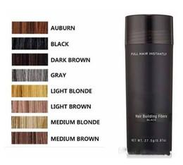 prodotto più sottile Sconti Le fibre costruzione dei capelli naturale di 9 colori cheratina 27.5g 0,97 once di capelli completa di prodotti di perdita di Spray diradamento dei capelli Concealer