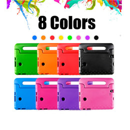 pink tablets for kids Coupons - Kids Children Handle Stand EVA Foam Soft Shockproof Tablet Case For Apple iPad Mini 2 3 4 Ipad Air ipad pro 9.7