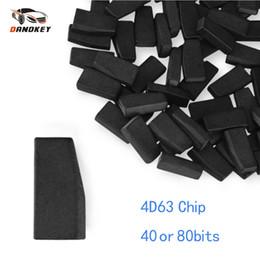10PCS 4D60 40 Bit Blank Key Transponder Chip