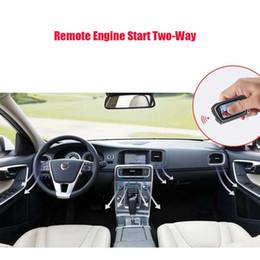 Controle remoto da tela do LCD do dobro-som para começar o alarme do carro Abertura automática do tronco pke keyless da entrada do xerife da entrada do keyline de