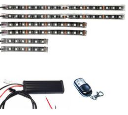 15 atv online-6pcs 15 kit di luci ATV per motocicletta telecomandata senza fili a striscia flessibile LED RGB 5050 SMD a colori