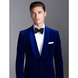 2019 calça azul escuro Mens azul escuro novo terno (casaco + calça) para o casamento Xinlang / melhor homem vestido de negócios vestido terno ocasional 2 peça desconto calça azul escuro