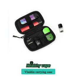 2019 zigaretten ego ce5 kit doppel 100% original Vladdin Carrying Case Aufbewahrungstasche und andere kleine Vape Pod VS Coil Master Pbag