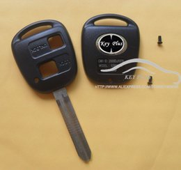 2019 camry remote key FUNDA REMOTA DE 2 BOTONES LLAVE PARA CAMRY RAV4 PRADO COROLLA TARAGO AVENSIS AVALON EHCO LAND CRUISER CAR KEY SHELL COVER rebajas camry remote key