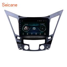 Carro obd usb on-line-All-in-One Android 8.1 de 9 de polegada GPS Navi Estéreo Do Carro para 2011-2015 HYUNDAI Sonata i40 i45 com AUX Apoio Wi-fi USB TPMS DVR OBD II câmera Traseira