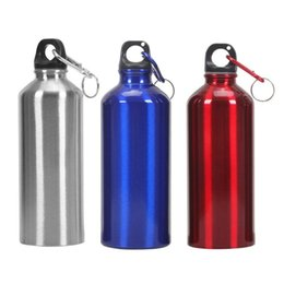 Bollitore d'acqua di alluminio online-Bollitore bevente della bottiglia di acqua di sport della bici all'aperto portatile di alluminio di 700ml