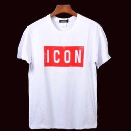 Deutschland 2019 heißer Verkauf Herren T-Shirt ICON Mode Kleidung Kurzarm T-Shirts mit Brief drucken Streetwear T-Shirts Marken Designer Bekleidung Versorgung