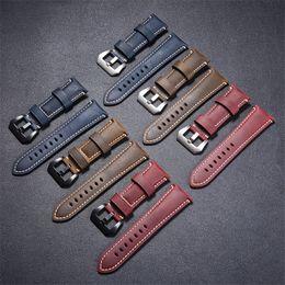 2019 reemplazar reloj Correas de reloj de cuero genuino Reloj inteligente Reemplazar accesorios Correa de reloj Universal 22 mm 24 mm 26 mm 3 colores 152 reemplazar reloj baratos