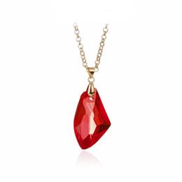246b858482d0 Gema roja Collar colgante Mago Collar de piedra mágica Irregular Joyas de  piedras preciosas rojas Regalo para mujer