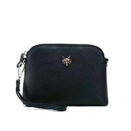 Направляясь на юг онлайн-Belle2019 коровьей слой на одно плечо лиса голова маленькая оболочка пакет женщина натуральная кожа косой сумка япония и южная корея сумка