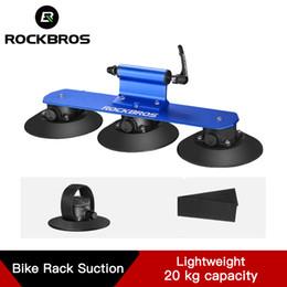 Tetto della bicicletta online-ROCKBROS Installazione rapida Bike tetto cremagliera della bicicletta di aspirazione Roof-Top Racks Bisarca MTB Mountain Road accessori