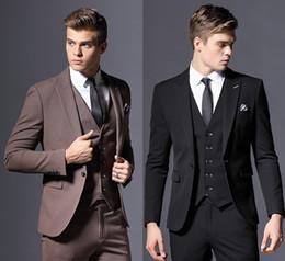 Nach Maß Vintage Herren Bräutigam Smoking Billig Jacke & Hosen Elegante Formale Partei Tragen Für Männer Groomsman Prom Anzug Maßgeschneiderte Anzüge