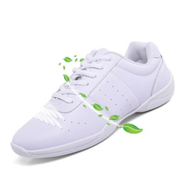 li ning sneakers Promo Codes - New style kids' sneakers children's white Modern Jazz Hip-hop dance shoes competitive aerobics shoes soft sole fitness gym shoes Y18110304