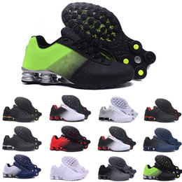 new style 154b1 896de r4 chaussures homme Promotion nike TN plus Shox airmax air max Zapatos  Hombre Shox Hommes Chaussures