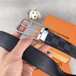 Cuerpo del pasador online-La moda de los hombres y mujeres de negocios pin hebilla estilo clásico diseño cinturón de celosía cuerpo es su mejor partido