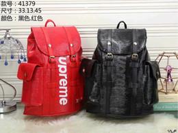 karikatur-charakter-rucksäcke großverkauf Rabatt 2019 heiße Verkaufs-klassische Art und Weise sackt Frauenmänner Rucksack-Art-Taschen-Duffel ein, die Unisexschulter-Handtaschen freies Verschiffen
