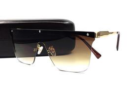 Marche di occhiali da sole hipster online-Occhiali da sole cool da uomo Occhiali da sole maschili neri da città SP Occhiali da sole di marca Occhiali da sole stile new hipster