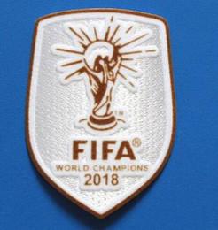 Canada 2018 Coupe du monde Badges Patch de football maillot de football Patchs champion chandails de patch pour la vente en gros Offre