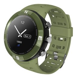 cambiar bluetooth Rebajas NUEVO F18 multifunción posicionamiento GPS Bluetooth reloj inteligente modo de múltiples deportes interruptor profundidad impermeable recordatorio de salud REGALO